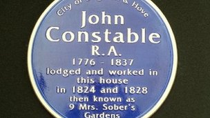 Constable plaque