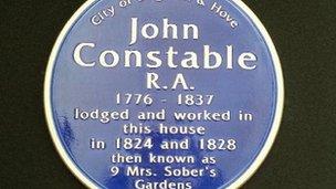 Constable plaque