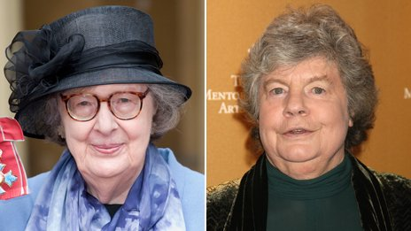 Penelope Lively and AS Byatt