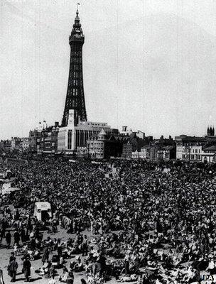 Blackpool, circa 1948 (Image: PA)