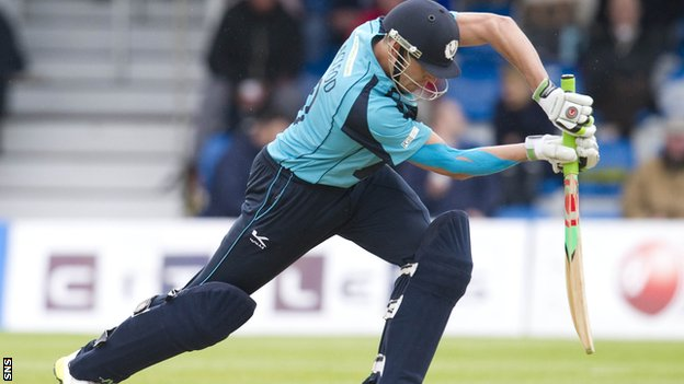 Scotland all-rounder Calum MacLeod