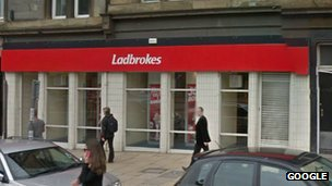 Ladbrokes store on Crichton Place