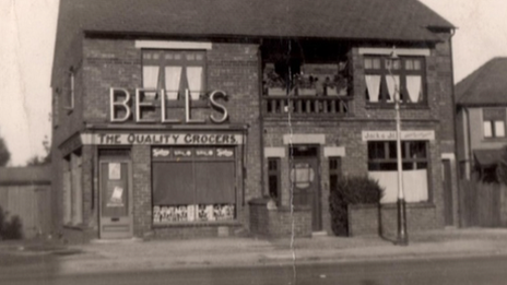 Former Bells shop on Chester Road