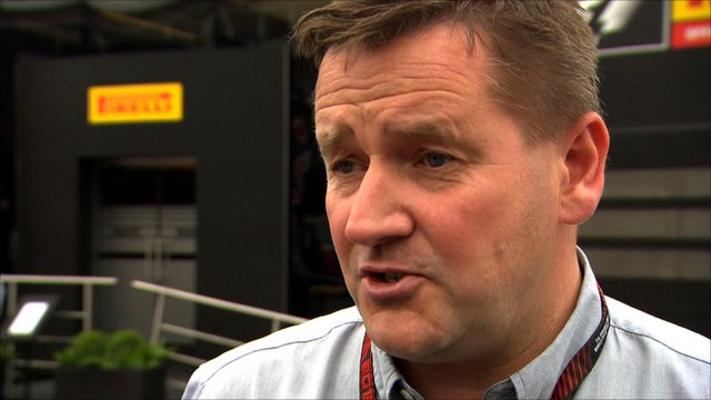 Pirelli Motorsport Director Paul Hembery