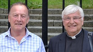 Barry Cash and Canon Paul Mellor