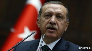 Prime Minister Recep Tayyip Erdogan