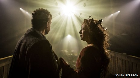 Sir Kenneth Branagh and Alex Kingston in Macbeth