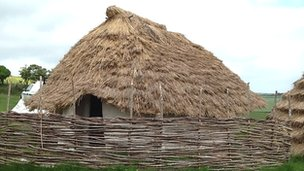 Neolithic House at Old Sarum, Wiltshire