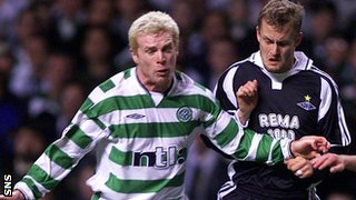 Neil Lennon and Harald Brattbakk