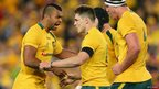 Australia v British and Irish Lions third Test James O'Connor congratulated