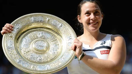 Bartoli wins first Wimbledon title