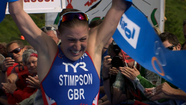 Britain's Jodie Stimpson