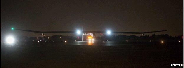 JFK landing