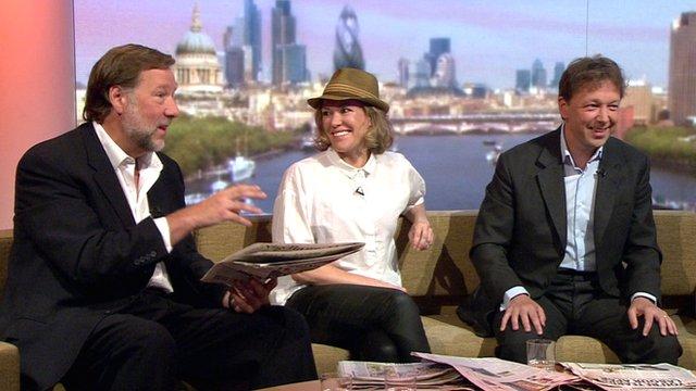 Phil Collins, Rupert Gavin, Cerys Matthews