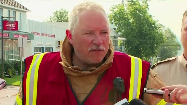 Lac-Megantic Fire Chief Denis Lauzon