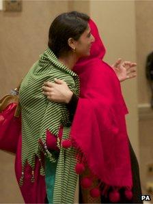 Malala Yousafzai  and Shazia Ramzan