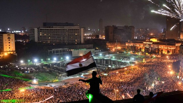 Tahrir Square in Cairo