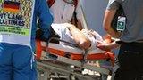 Cameraman injured at German GP