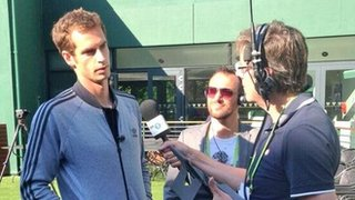 Andy Murray on BBC Radio 5 live