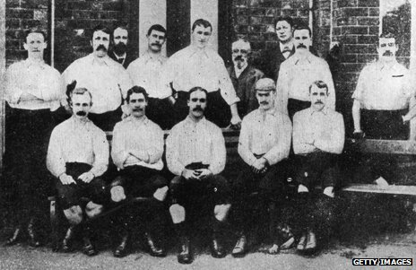 Preston North End in 1889
