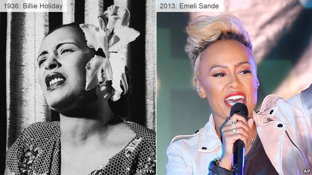 Billie Holiday and Emeli Sande