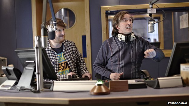 Scene from Alpha Papa starring Steve Coogan as Alan Partridge