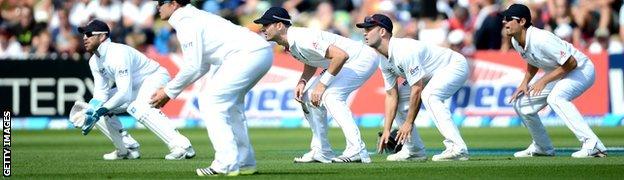 England slip catchers