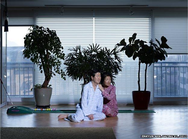 Jinkyun Ahn, Gazing #1, 2012