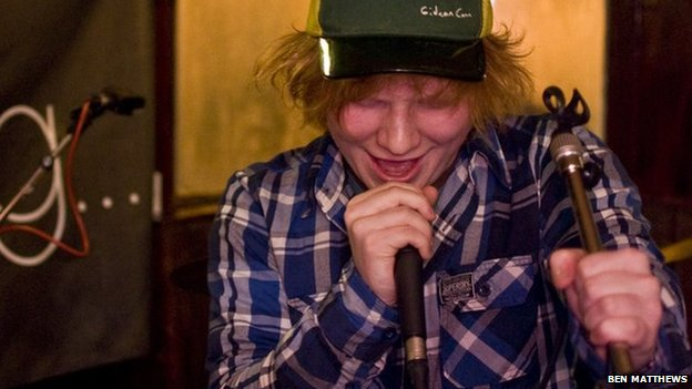 Ed Sheeran, The Anchor, Woodbridge