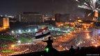 Opponents of Mohammed Morsi in Tahrir Square