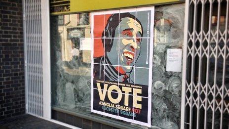 Alan Partridge campaign poster