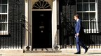 Andy Murray outside Number 10