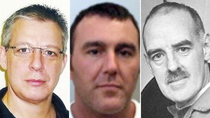 Jeremy Bamber (PA), Douglas Vinter and Peter Moore (PA)