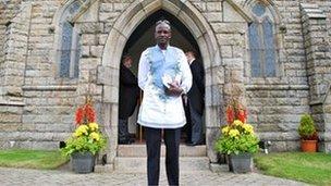 Ibrahim Pat-Sowe from Sierra Leone