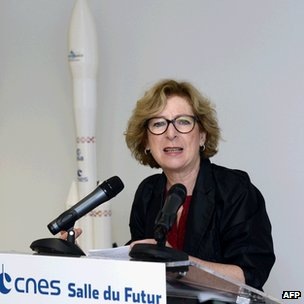 French Minister for Higher Education and Research Geneviève Fioraso