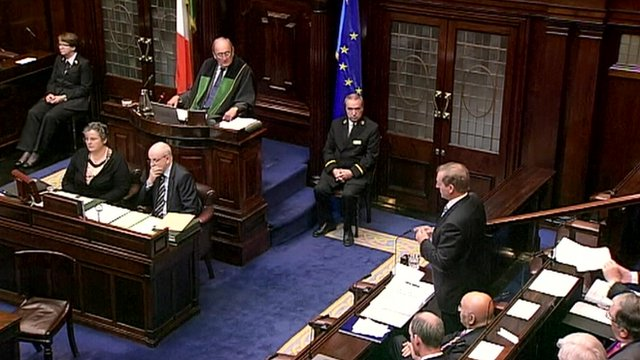 Ministers in the Dail