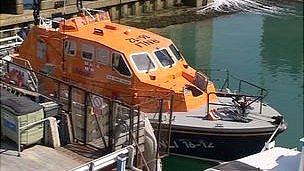 RNLI Tamar class lifeboat George Sullivan