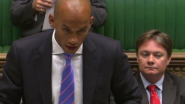 Labour MP and shadow business secretary Chuka Umunna