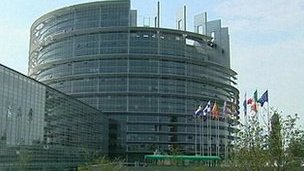 European Parliament at Strasbourg