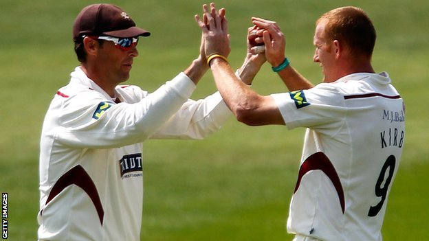 Marcus Trescothick and Steve Kirby