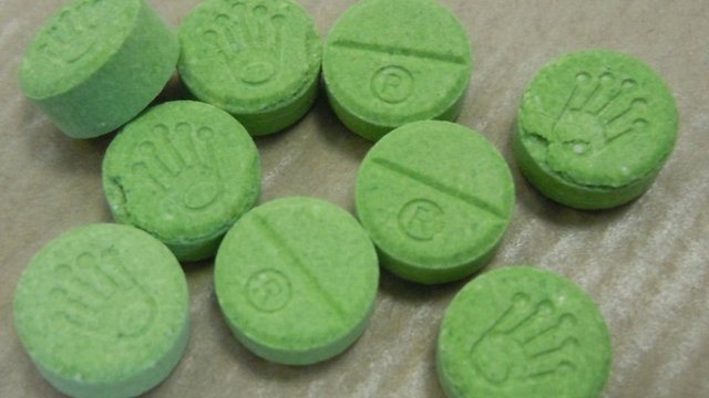 Fake ecstasy tablets