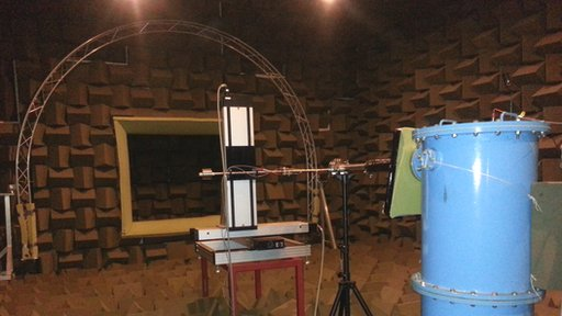 semi-anechoic chamber, University of Southampton