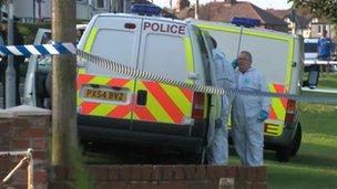 Police in Stanwix, Carlisle