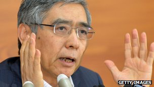Bank of Japan (BoJ) governor Haruhiko Kuroda