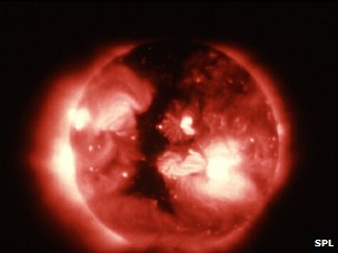 Skylab image of coronal hole