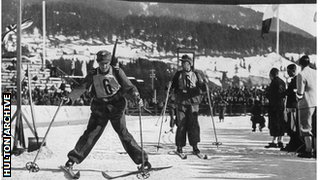 1936 German biathlon team