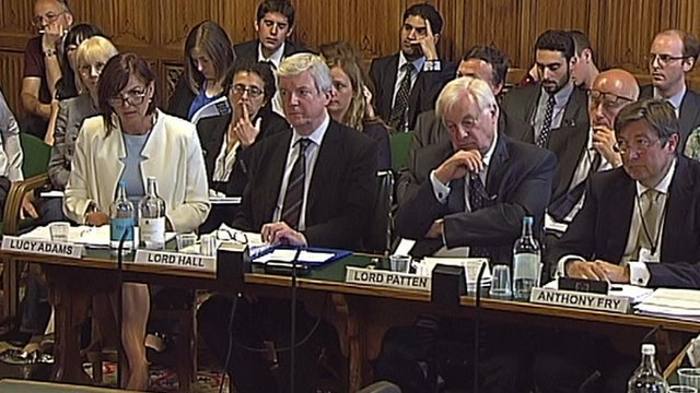 Lucy Adams, Lord Hall, Lord Patten, Anthony Fry