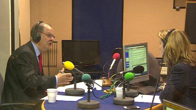 Ipsa chairman Sir Ian Kennedy talks to BBC Radio 5 Live's Victoria Derbyshire