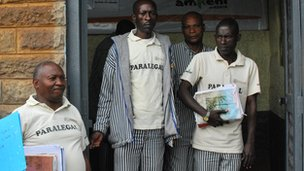 Paralegal prisoners at Kamiti prison, Kenya