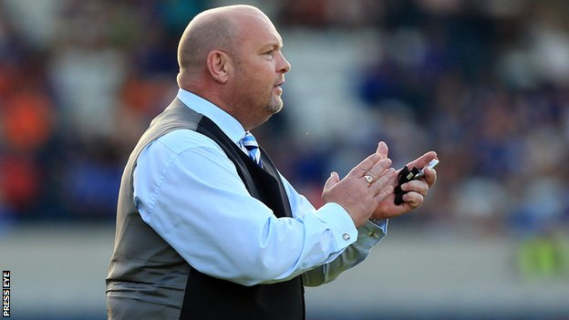 David Jeffrey was thrilled by his team's display at Windsor Park